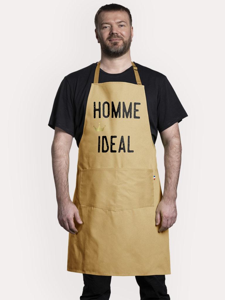 Tablier de cuisine Homme ideal
